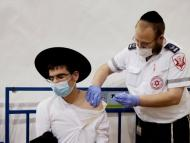 El 58,82 % de la población israelí está ya vacunada.