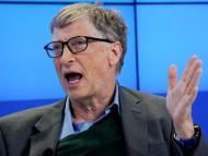 Bill Gates, en enero de 2021, en el Foro Económico Mundial de Davos.