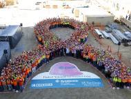 Campaña de concienciación sobre el cáncer de mama