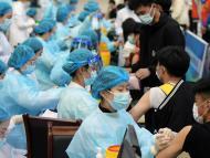 Campaña de vacunación en China