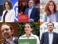 candidatos elecciones 4 de mayo 2021 Comunidad de Madrid