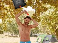 La ducha de camping portátil de Lidl por menos de 5 euros para tus viajes en caravana y excursiones