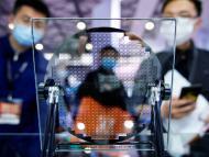 Feria de semiconductores en Shangái (China)