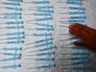 Jeringuillas para la vacunación contra el coronavirus