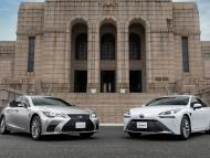 Lexus LS y Toyota Mirai, con el nuevo sistema de conducción autónoma de la marca