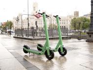 Patinetes eléctricos de Bolt en Madrid