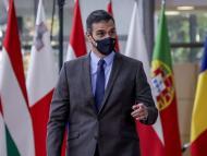 Pedro Sánchez en Bruselas, octubre de 2020.