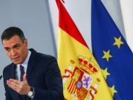Pedro Sánchez, en una comparecencia en La Moncloa