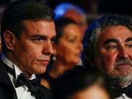 El presidente del Gobierno y el ministro de Cultura en la gala de los Goya de 2020.