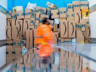 Repartidor de Amazon