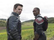 """Sebastian Stan y Anthony Mackie en """"Falcon y el soldado de invierno"""""""