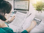 ¿Qué significa un resultado negativo en la declaración de la renta?
