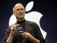 Steve Jobs en la presentación del iPhone