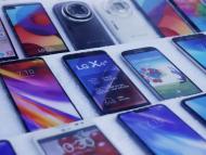 Varios móviles LG