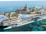 800 millones de euros cuesta esta yate que reproduce Mónaco.