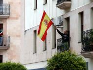 bandera España balcones coronavirus