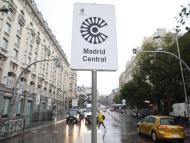 Cartel de Madrid Central