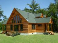 Las casas prefabricadas de madera pueden llegar a durar un siglo.
