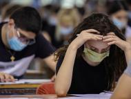 Examen durante la pandemia de coronavirus