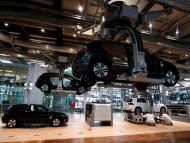 Fábrica de coches eléctricos de Volkswagen en Dresde Alemania Reuters