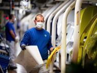 Fábrica de Volkswagen en Wolfsburgo Alemania