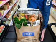 Imagen de una bolsa del supermercado Blok