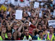 Una imagen de la manifestación del 15-M celebrada en Madrid hace 10 años.