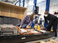 Laboratorio de baterías de Ford en Allen Park, Michigan, EEUU