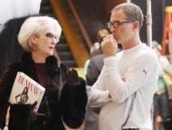 Meryl Streep y David Frankel en 'El diablo viste de prada'.