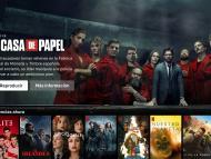 Página de inicio de Netflix