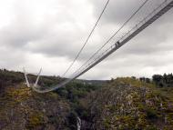 Así es el puente colgante peatonal más largo del mundo, en Portugal y abierto al público [fotogalería]
