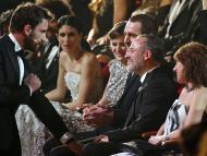 Varios actores y actrices en la ceremonia de los Goya de 2015.