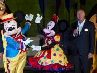 Bob Chapek, CEO de Disney durante el décimo aniversario de Disneyland Hong Kong.