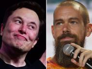 Jack Dorsey y Elon Musk