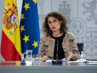 La Ministra de Hacienda del Gobierno de España, María Jesús Montero.
