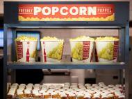 Palomitas en la reapertura de los cines AMC