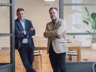 Los responsables de Netex, Carlos Ezquerro (izquierda) y Joserra Mosteiro (dcha.).