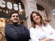 Ricard y Marta Maxenchs, fundadores de Cosi
