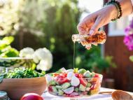salsas saludables ensalada
