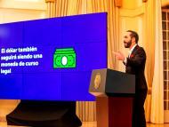 El Salvador dará 25 euros en bitcoin a los ciudadanos que se descarguen la aplicación de criptomonedas del Gobierno antes de que este sea de curso legal en septiembre