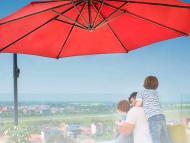 sombrilla parasol grande
