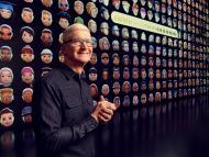 Tim Cook, CEO de Apple, durante la WWDC
