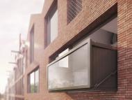 La ventana que se convierte en balcón ya ha sido instalada en un edificio de apartamentos de Ámsterdam.