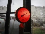 calor presión termómetro