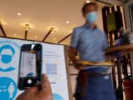 Código QR para entrar en restaurantes