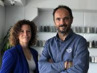 Los fundadores de Circoolar, Celina Tamagnini y Luis Ribó.