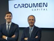 Gonzalo Martínez, socio director, y Gil Gidron, presidente de Cardumen Capital