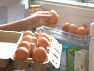 Huevos en la nevera