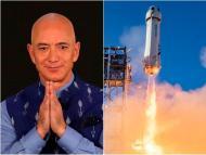 Jeff Bezos arriesga su vida para llegar al espacio: el cohete ha volado 15 veces, pero no tendrá piloto ni posiblemente traje espacial