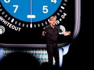 Kevin Lynch durante el discurso de apertura en la Conferencia Mundial de Desarrolladores de Apple el 3 de junio de 2019.